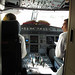 Cockpit open when I got on our second flight :). LACSA Air San Salvador to Toronto :)
