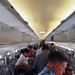 Nice plane and I love when they mist it so you don\\\'t get headaches :). LACSA flight San Salvador to Toronto