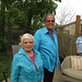 My mum and dad :). Welcome Home Party in Dundas, ON. Canada 12MAY12