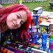 Me excited abotu the fireworks :). Victoria Day long weekend. Burlington, ON. Canada 21MAY12