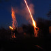 Playing with roman candles. Victoria Day long weekend. Burlington, ON. Canada 21MAY12